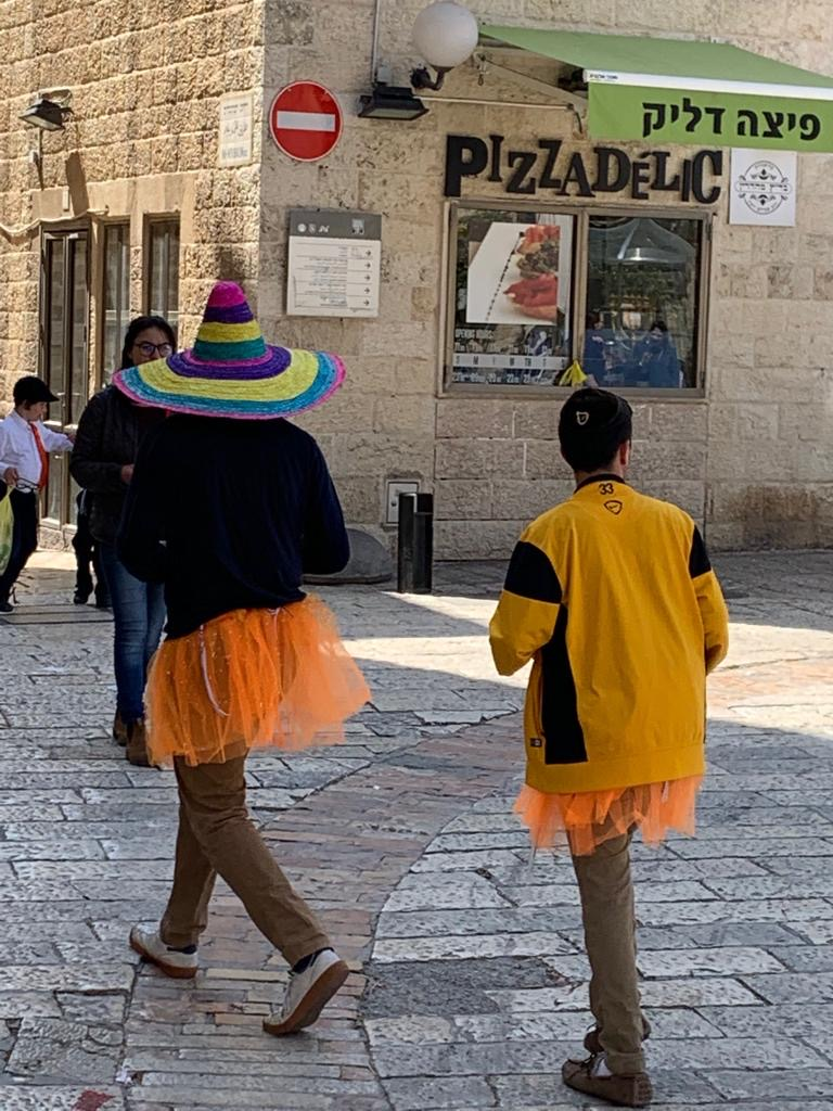 Hyman - North - Jerusalem Purim a