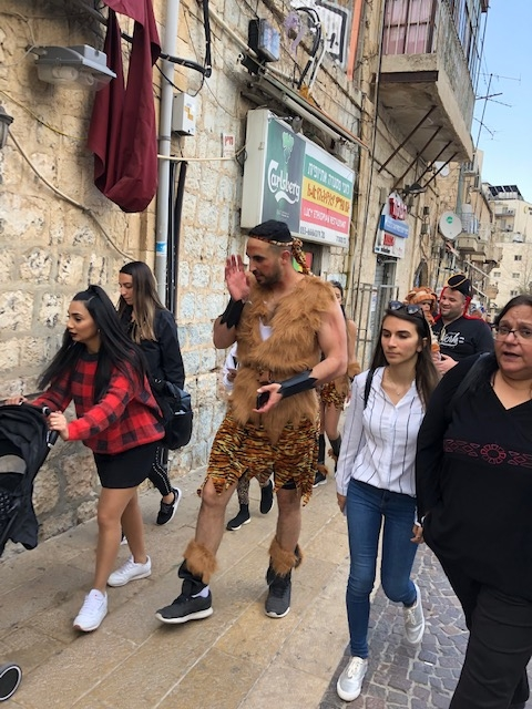 Siegel - South - Jerusalem Purim a