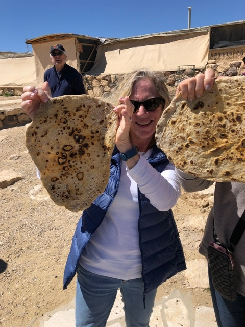 Barcham - South - Pita Making a