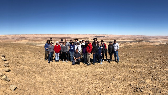 Barcham - South - Ramon Crater Geological Wonders a